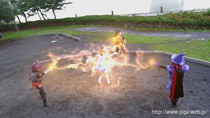 スーパーヒロイン絶体絶命!!Vol.65 女神戦士セーラーウォーターエルメス 紺野ひかる|無料エロ画像8