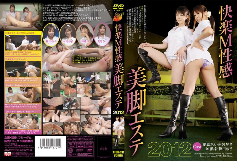 快楽M性感美脚エステ 2012(パッケージ画像)