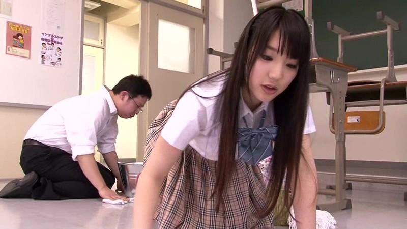掃除道具で強●射精させられた 2 〜優等生女子編〜|無料エロ画像9
