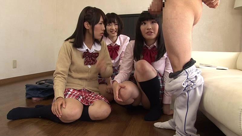 【JK 主観羞恥】制服姿のJK女子校生の、主観羞恥手コキプレイがエロい!【エロ動画】