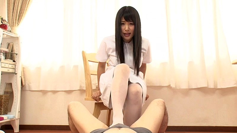 【ナース】パンスト姿のナース痴女の、パンチラM男主観プレイ動画!