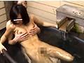 温泉露天風呂SEXヤラれる巨乳とヤラせて淫乱彼女