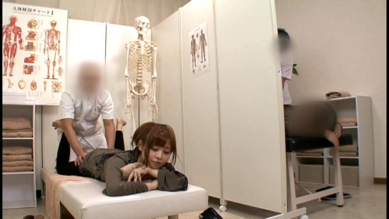 Asian wife massage fuck near husband