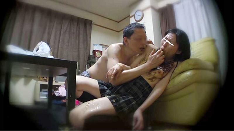 出会い系で知り合った女子○生を騙し糞まみれのスカトロファック 画像3