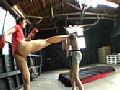 長身肉バレー格闘圧迫女子のサンプル画像 23