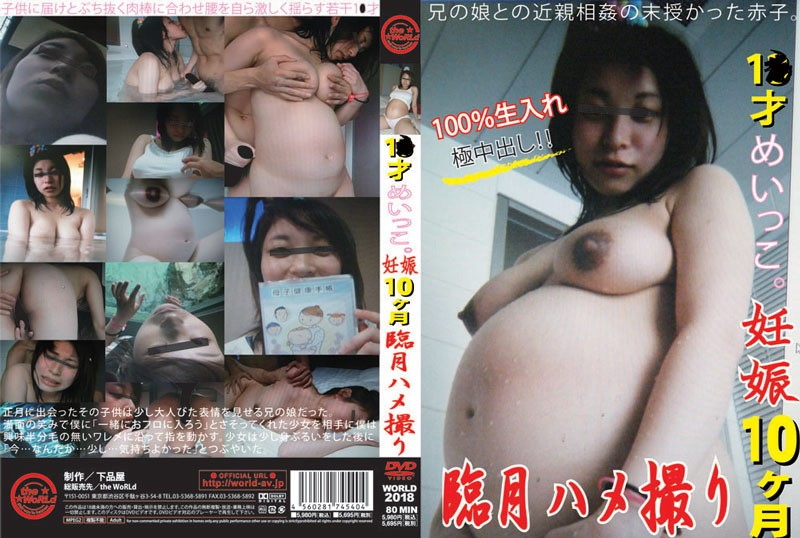 (h_227world02018)[WORLD-2018] 1●才めいっこ。妊娠10ヶ月臨月ハメ撮り ダウンロード