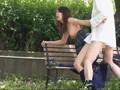 【個人撮影】青姦日和!妊娠レベルの大量受精淫乱思考で赤面...sample5