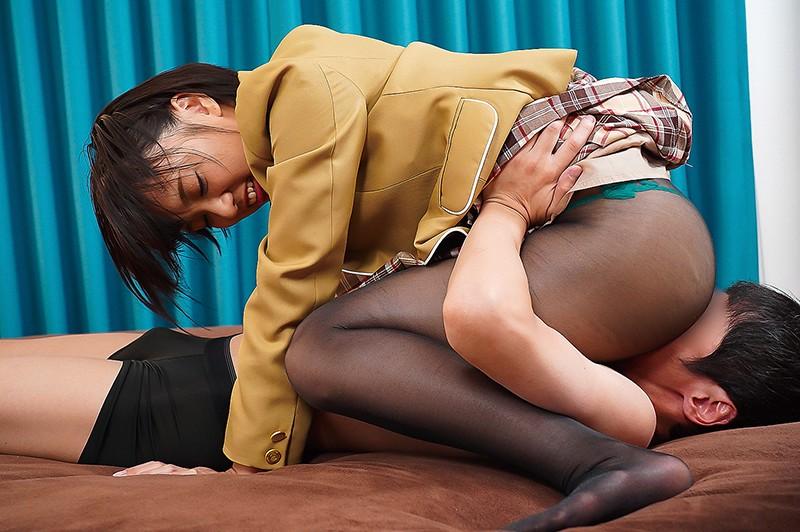 パンストの誘惑 もなみ鈴 キャプチャー画像 12枚目
