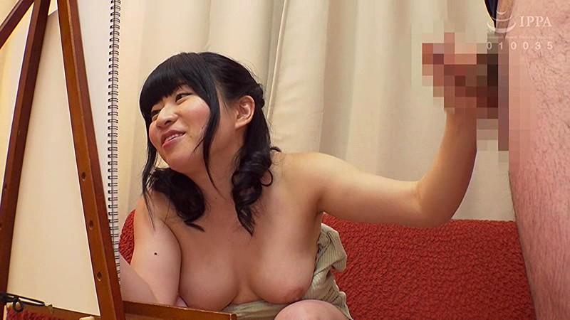 美大生の巨乳娘 お父さんにヌードモデルをお願いしたら興奮して中出しされました。井上愛唯 の画像19