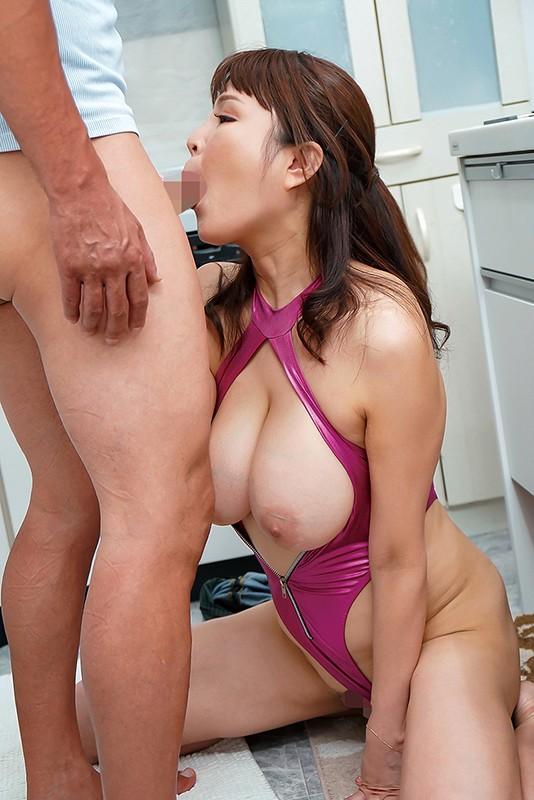 爆乳ムチムチ妻の下品なマラ喰い肉欲生活 今藤霧子 1枚目