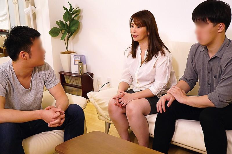 夫の面影を持つ息子と未亡人母 翔田千里 4