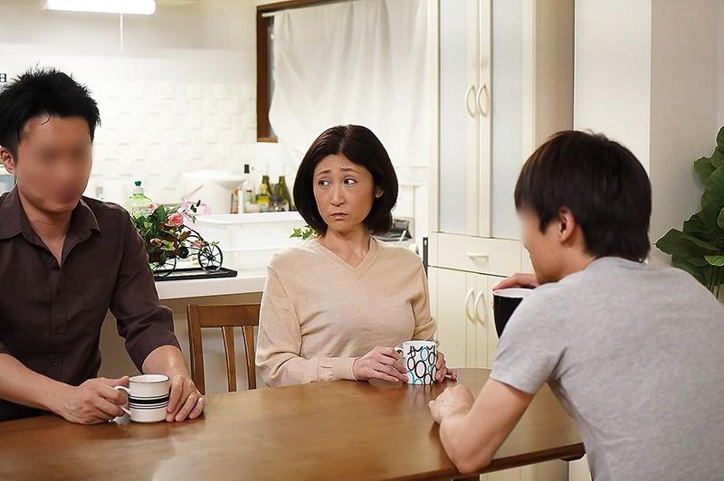 夫の面影を持つ息子と未亡人母 徳山翔子8