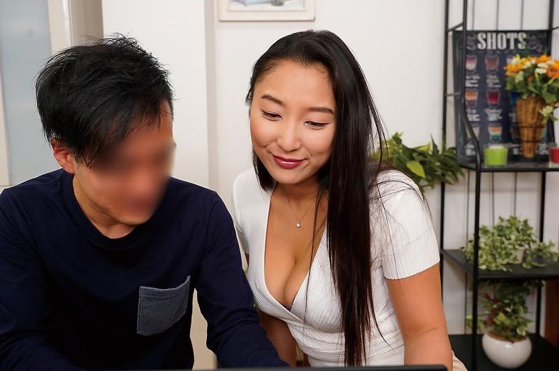 ドMの陰キャ男とドSなパンストお姉さん 本真ゆり キャプチャー画像 1枚目
