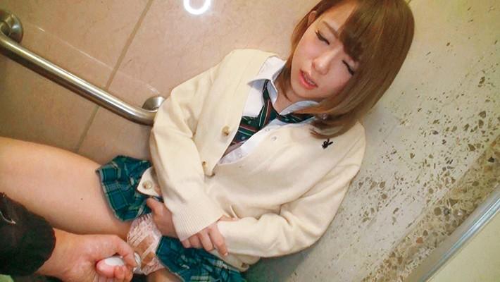 【女子校生】ロリで制服姿の女子校生美少女の、アクメ痙攣コスプレプレイ動画!!可愛らしすぎる!【巨根】