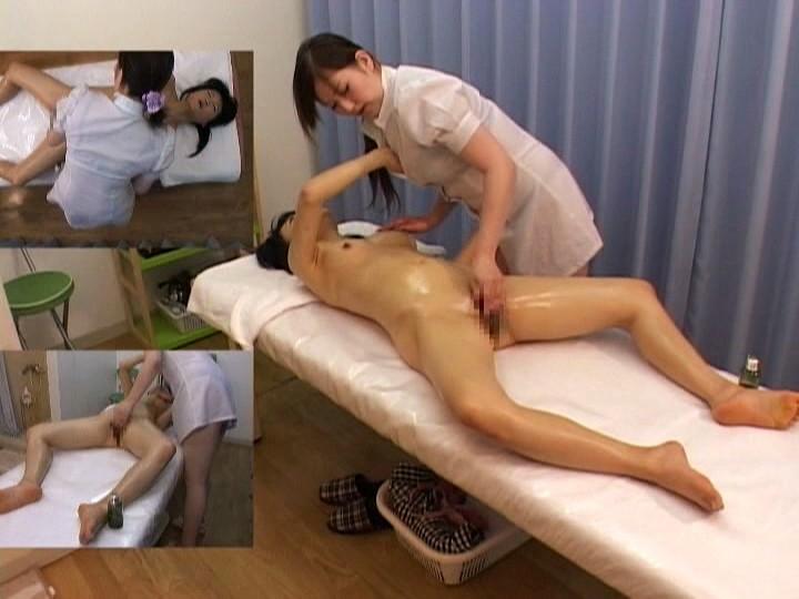 Секс в массажном кабинете на дому