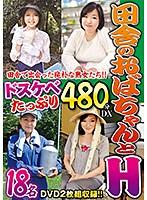 田舎のおばちゃんとH ドスケベたっぷり480分DX h_254eih00041のパッケージ画像