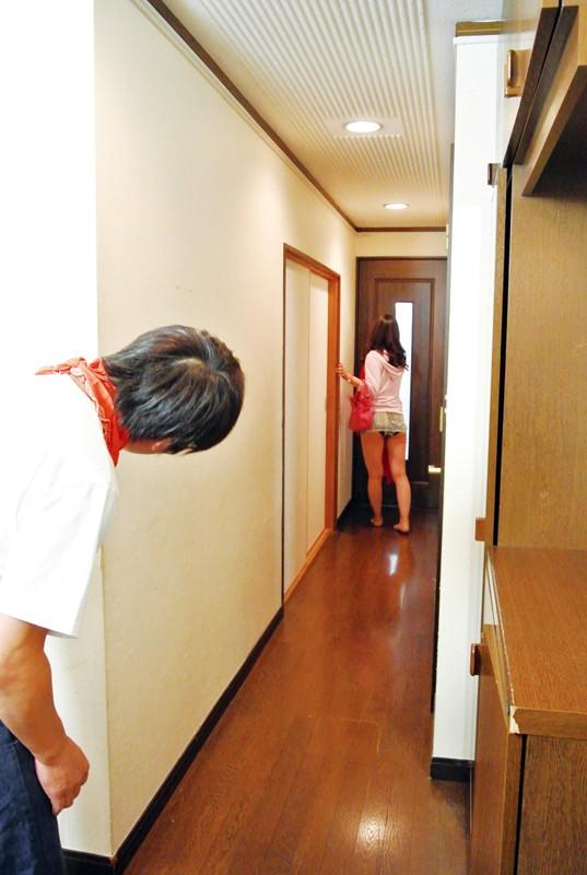 田舎から上京してきた妹のエッチな誘惑に負けて中出しセックス 杉浦花音 3枚目