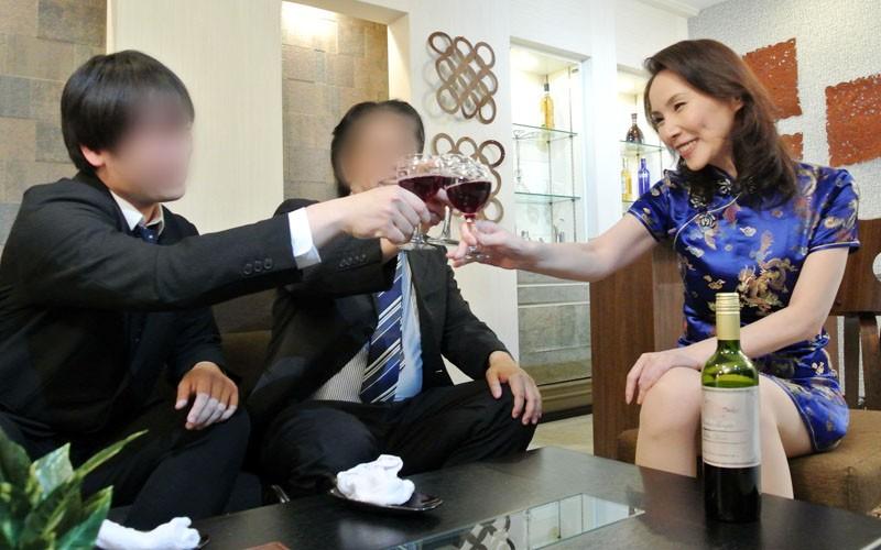 美人スナックママ 山口珠理 キャプチャー画像 1枚目