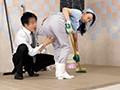 [MOKO-008] 年増熟女はいつでもどこでも感じちゃう!?掃除のおばさんのムチ尻に痴漢したら2