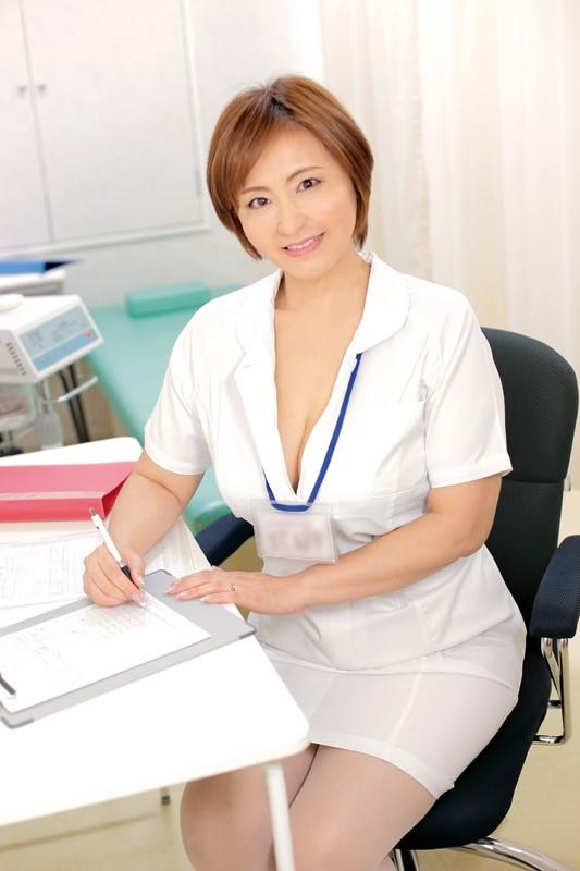 OFKU-109 Studio STAR PARADISE - Working Rural Lady. A Middle-Aged Nurse With Big Tits. Mature Woman From Ibaraki. Takako Moriya - big image 1