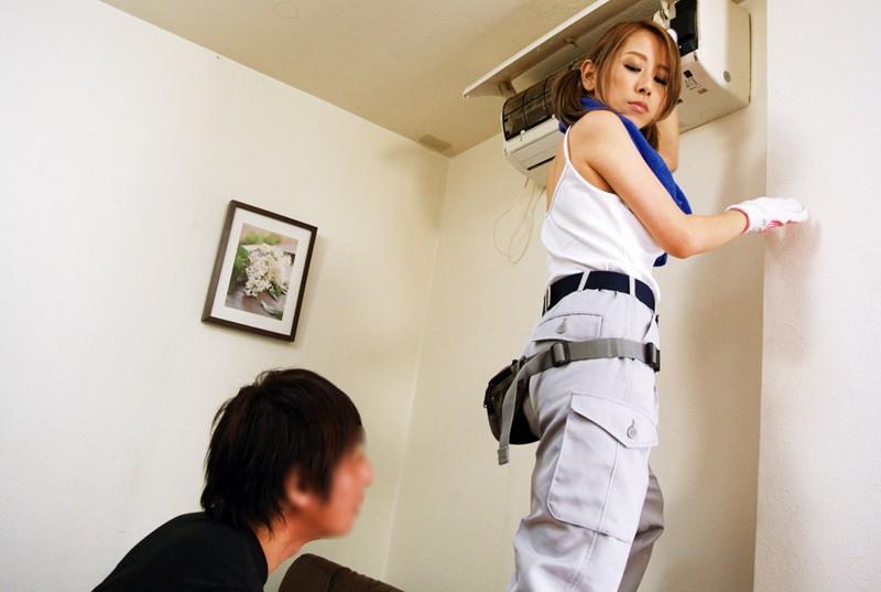 電気屋のお姉さんの爆乳おっぱいにHなイタズラ 北川エリカ 3枚目