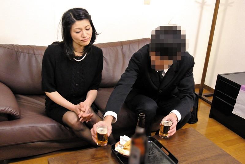 夫の元部下に狙われた四十路未亡人 古川祥子 の画像8