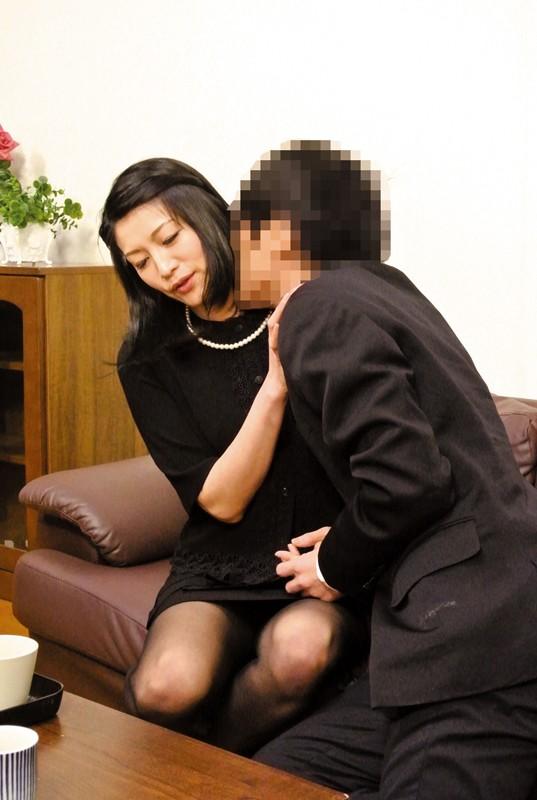 夫の元部下に狙われた四十路未亡人 古川祥子 の画像18