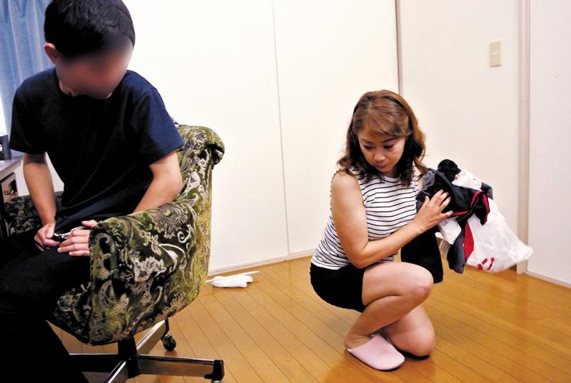 息子に犯された母 藤崎美冬 46歳 の画像19