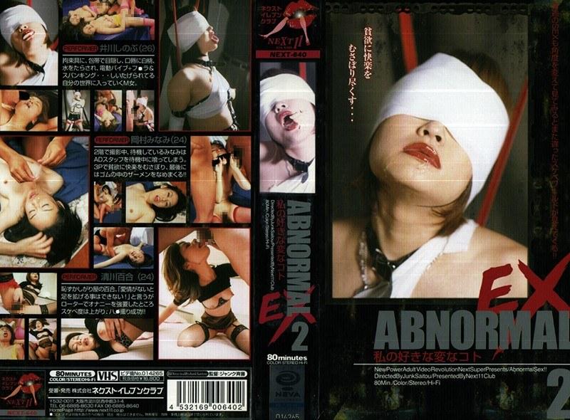 ABNORMAL EX 2 パッケージ