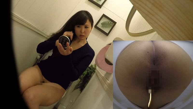 アウトレット女子トイレ放尿オナニー盗撮 キャプチャー画像 15枚目