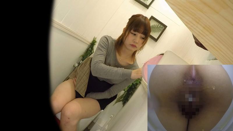 アウトレット女子トイレ放尿オナニー盗撮 キャプチャー画像 3枚目