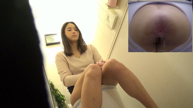 アウトレット女子トイレ放尿オナニー盗撮 キャプチャー画像 7枚目