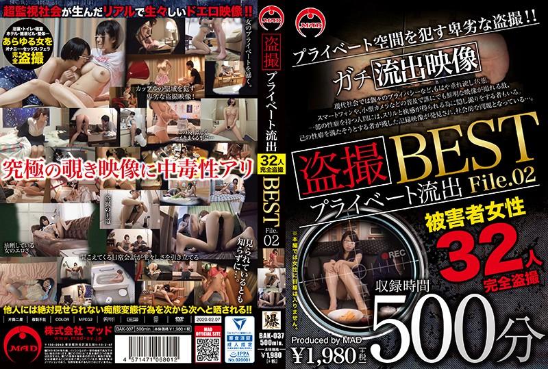 盗撮 プライベート流出500分 BEST File.02