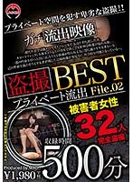 盗撮プライベート流出500分BESTFile.02