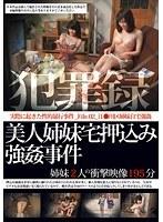犯罪録 美人姉妹宅押込み強姦事件 File.02 ダウンロード