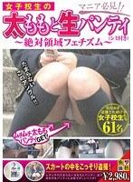 女子校生の太ももと生パンティ(シミ付き) 〜絶対領域フェチズム〜 ダウンロード