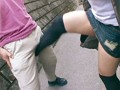 (h_307lzjs00851)[LZJS-851] 街角の超カワイイ娘に太モモ、パンティ丸出しで金蹴り三昧! ダウンロード 4