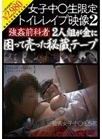 女子中○生限定 トイレレイプ映像 2 強姦前科者2人組が金に困って売った秘蔵テープ ダウンロード