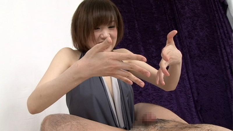 キレイなお姉さんの絶妙な手コキ凄テク、スケベ淫語で射精した後も執拗に亀頭責めをされ、思わず「男の潮吹き」をしてしまいました 画像10