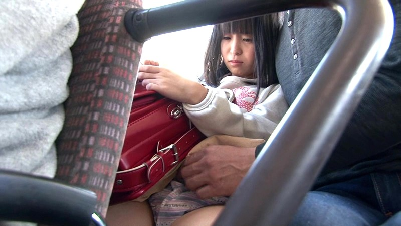 小○生痴●バス 〜怯えて声も出せない小○生に悪戯〜|無料エロ画像3
