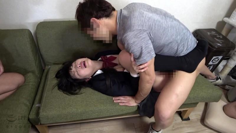 女子●生尾行押し込み3穴アナル集団レ●プ3