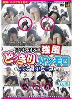 通学女子校生 強風どっきりパンモロ VOL.1 〜足元から奇跡の風が!〜 ダウンロード