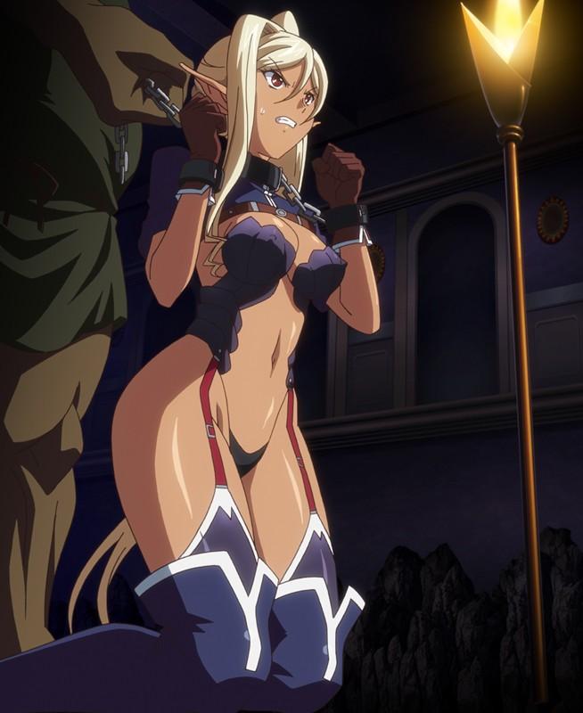 黒獣 ~気高き聖女は白濁に染まる~ オリガ×クロエ 黒の城、崩落編 1
