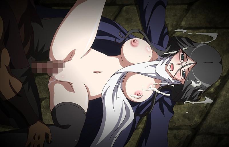 黒獣〜気高き聖女は白濁に染まる〜 戦慄の乱交劇 高潔な姫騎士の白い柔肌に食い込むのは、怒張した切先 編14