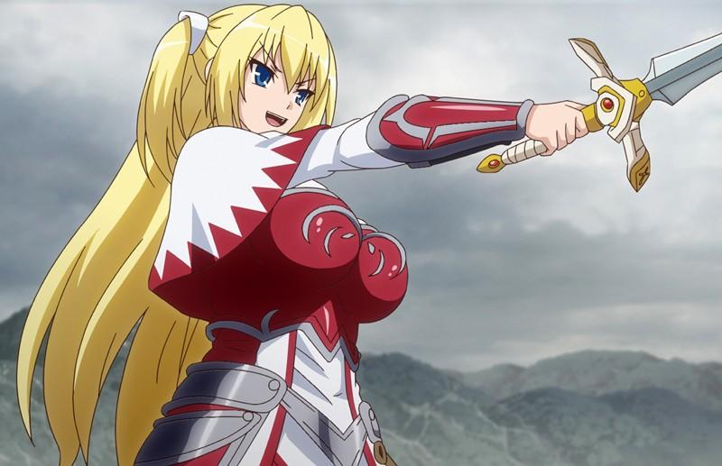 堕ちモノRPG 聖騎士ルヴィリアス 第一章 奪われた純潔 ~ルヴィリアスの決断~
