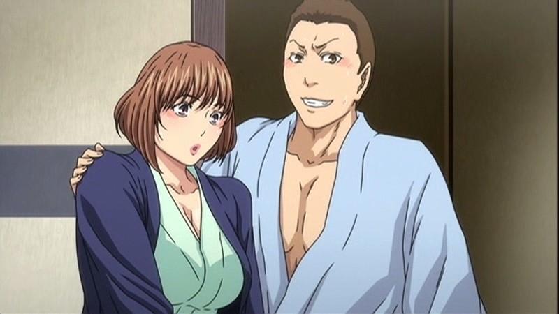 妻が温泉でサークル仲間の肉便器になったのですが… AnimeEdition 1