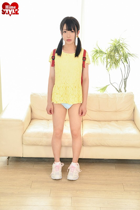 ひめドットらぶ さくらまみ18歳AVデビュー 153cmの小さな女の子なのに17cmの巨大ペニクリがついててごめんなさい…2