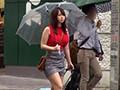 街で見かけたパイスラがひと際目立つムチムチ爆乳娘をナンパしたら秋田の田舎町から遊びに上京してきた世間知らずの芋っ娘でした。