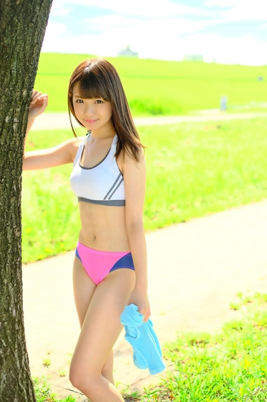 エッロ〜い女子大マラソン部員 早乙女夏菜18才 AVデビュー ぶっ駆け抜ける裸体 画像1