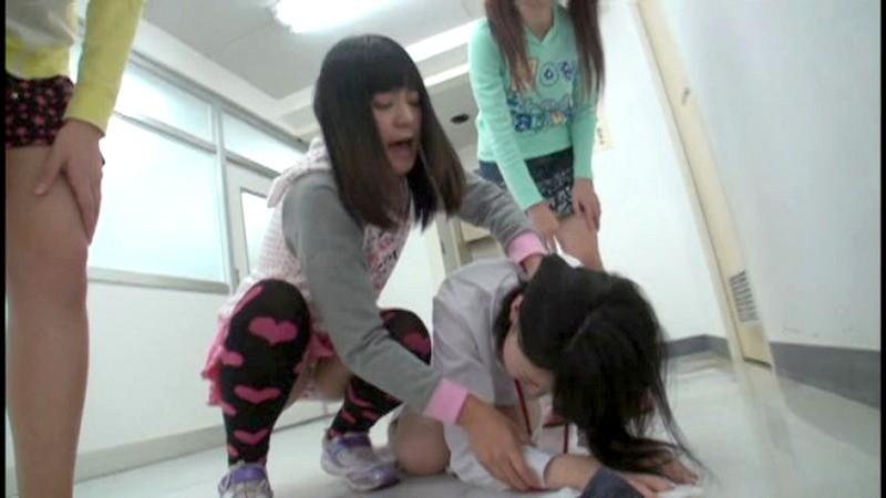 熊●県某小●校流出映像 恥辱にまみれた小○生 少女集団いじめ|無料エロ画像4